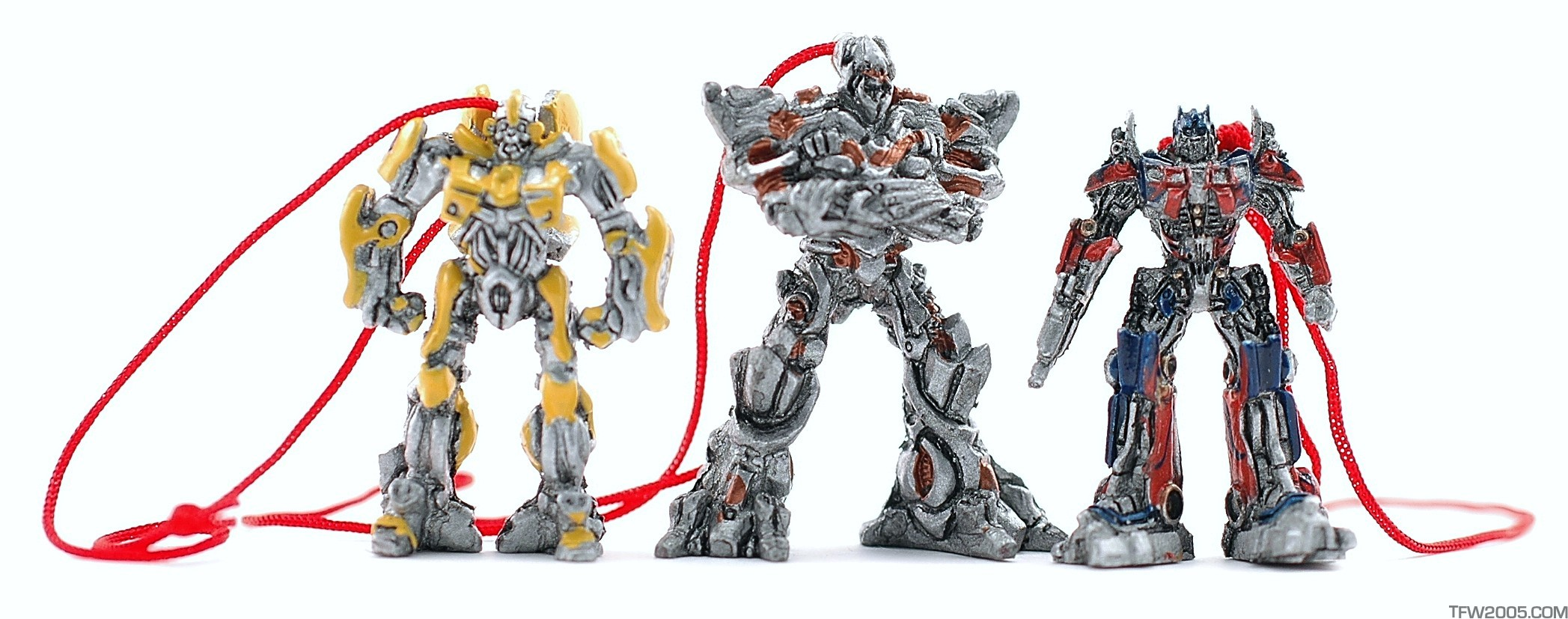 Transformers Movie Mini Christmas Ornaments 3 Pack - Reflector ...