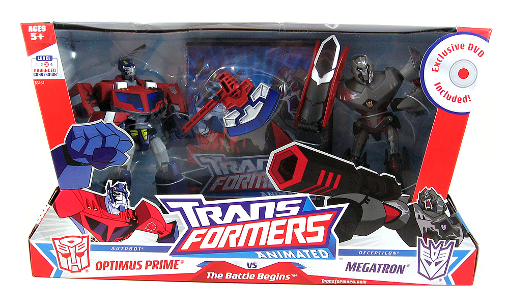 The battle begins optimus prime vs megatron reflector - Transformers cartoon optimus prime vs megatron ...