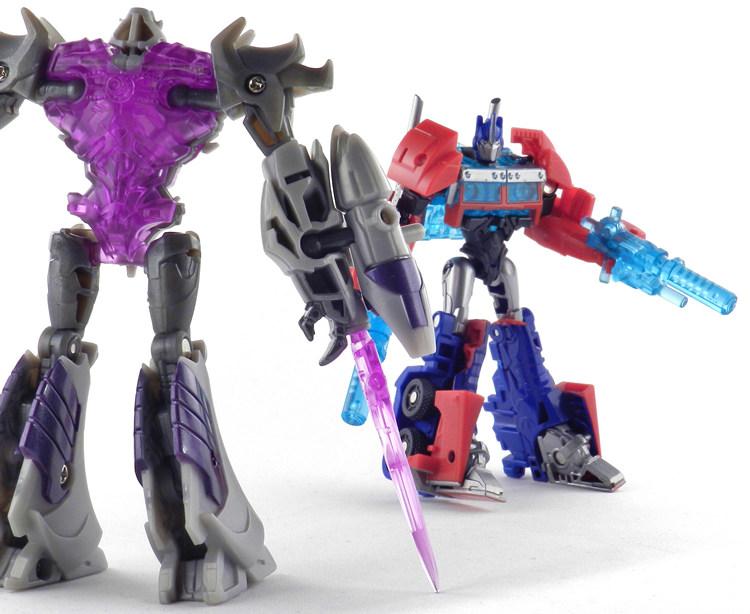 Megatron vs optimus prime transformers 3
