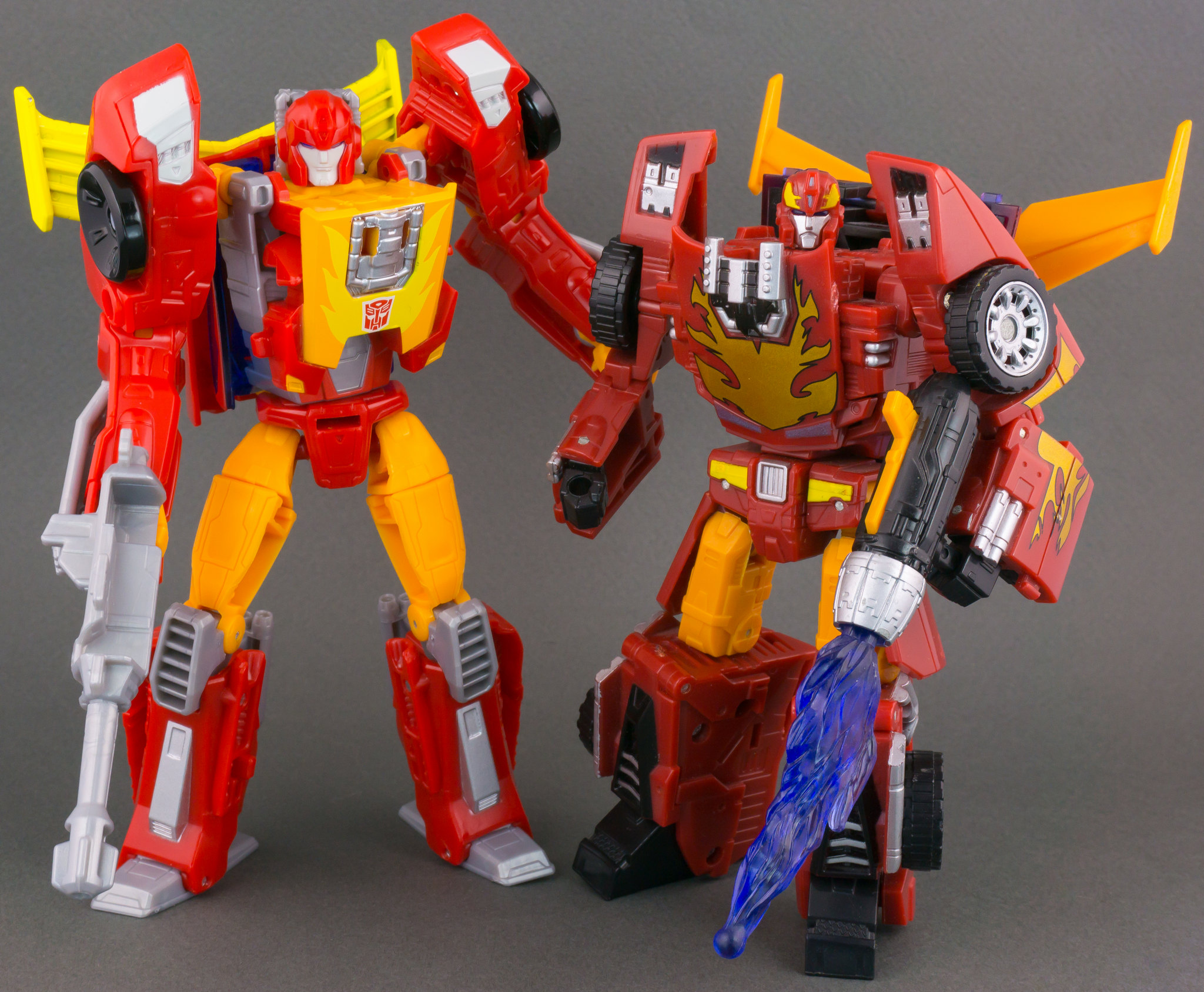 144 Hot Rod with Classics Rodimus - Reflector @ TFW2005